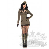 Fato Pin Up Army Girl